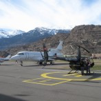 For flight training in the mountains, we recommend the Swiss Alps